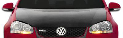 Extreme Dimensions 16 - Volkswagen Golf GTI Carbon Creations OEM Hood - 1 Piece - 105244