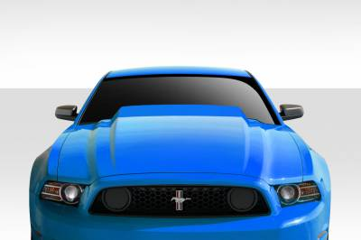 Extreme Dimensions 16 - Ford Mustang Duraflex 4 Inch Cowl Hood - 1 Piece - 112399