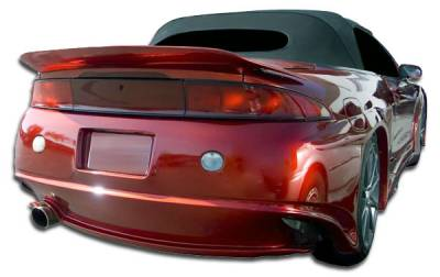Extreme Dimensions - Mitsubishi Eclipse Duraflex Millenium Wide Body Rear Bumper Cover - 1 Piece - 105579