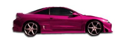 Extreme Dimensions - Mitsubishi Eclipse Duraflex Blits Side Skirts Rocker Panels - 2 Piece - 101599