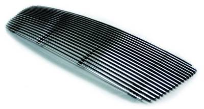 In Pro Carwear - Ford F150 IPCW Billet Grille - Bolt-On without Logo Hole - Honeycomb - CWOB-04FDH