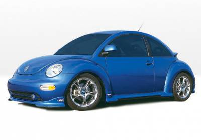 VIS Racing - Volkswagen Beetle VIS Racing W-Type Complete Body Kit - 4PC - 890287