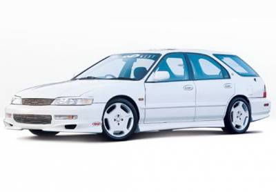 Wings West - Honda Accord Wagon Wings West W-Type Complete Body Kit - 4PC - 890321