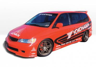 Wings West - Honda Odyssey Wings West W-Type Complete Body Kit - 4PC - 890499