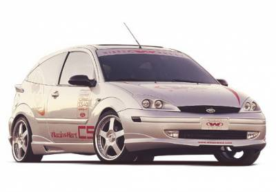 Wings West - Ford Focus ZX5 Wings West W-Type Complete Body Kit - 4PC - 890634