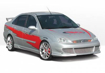 Shop For Ford Focus 4dr Body Kits On Bodykits Com