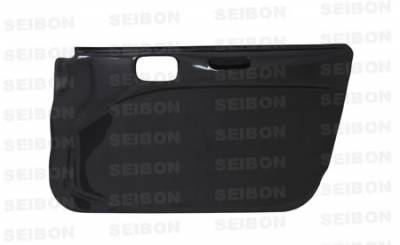 Seibon - Mitsubishi Evolution 8 Seibon Carbon Fiber Door Panels - DP0305MITEVO8-F
