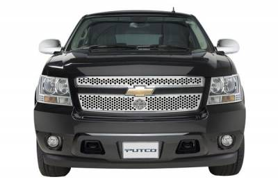 Putco - Chevrolet Avalanche Putco Punch Grille Insert with Bar & Shield - 52158
