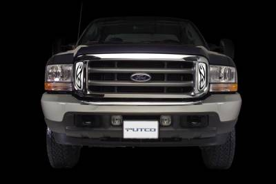 Putco - Ford F350 Superduty Putco Tribe Stainless Steel Grille - 86105