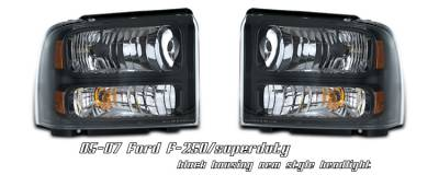 OptionRacing - Ford F250 Option Racing Headlight - 10-18171