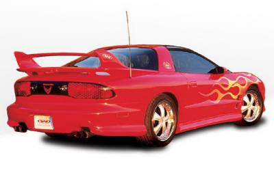 Wings West - Pontiac Firebird Wings West W-Type Side Skirts - Left & Right - 890190L&R