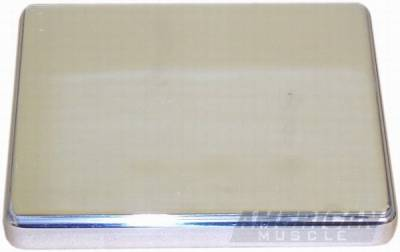 AM Custom - Ford Mustang Polished Stainless Steel Fuse Box Lid Cover - 41037