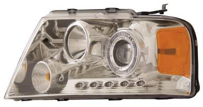 Anzo - Ford F150 Anzo Projector Headlights - with LED Halo - Chrome - 111029