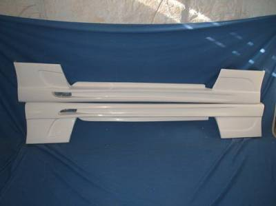 Bayspeed. - Ford Mustang Bay Speed BX Style Side Skirts - 1500BX