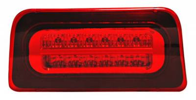 Anzo - Chevrolet S10 Anzo LED Third Brake Light - Red & Clear - 531020