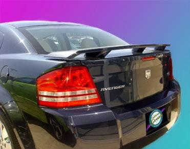California Dream - Dodge Avenger California Dream OE Style Spoiler - Unpainted - 803N