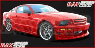 Bayspeed. - Ford Mustang Bay Speed BX Style Front Bumper - 8990BX