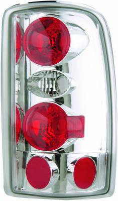 APC - Chevrolet Tahoe APC Euro Taillights with Chrome Housing - 404203TLR