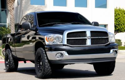 T-Rex - Dodge Ram T-Rex Upper Class Mesh Grille - All Black - 51468