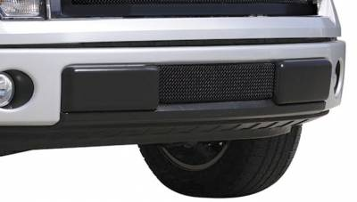 T-Rex - Ford F150 T-Rex Upper Class Bumper Mesh Grille - All Black with Formed Mesh - 52569