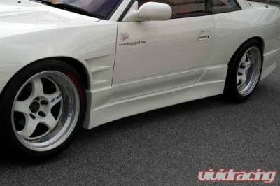 Chargespeed - Nissan 240SX Chargespeed Side Skirt - Pair - CS702SS