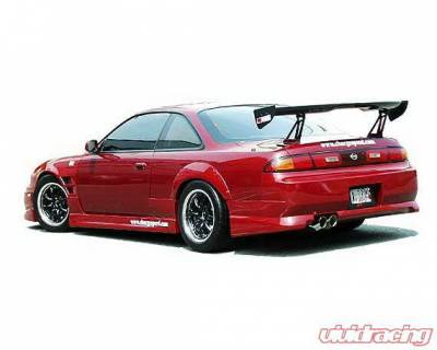 Chargespeed - Nissan 240SX Chargespeed Rear Bumper - CS704RB