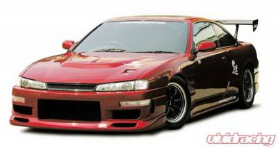 Chargespeed - Nissan 240SX Chargespeed Vented Hood - CS705HFV