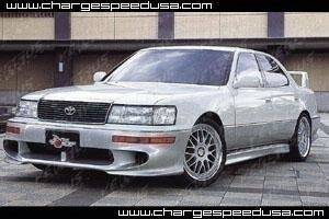 Chargespeed - Lexus LS Chargespeed JDM Spec Front Bumper - CS889FB