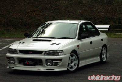 Chargespeed - Subaru Impreza Chargespeed Version 5 Type-2 Front Spoiler - CS976FL3