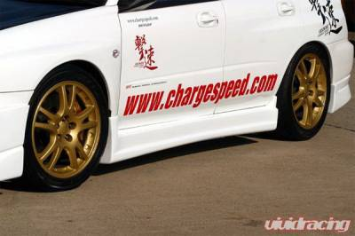 Chargespeed - Subaru Impreza Chargespeed Type-1 Side Skirt - Pair - CS978SS