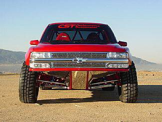 Street Scene - Chevrolet Silverado Street Scene Chrome Grille Shell with Chrome Speed Grille - 950-78561