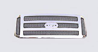 Street Scene - Ford F250 Street Scene Chrome Grille Shell with Chrome Speed Grille - 950-78595