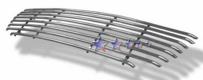 APS - Ford F150 APS Tubular Grille - Honeycomb without Logo Opening - Upper - Stainless Steel - F68011S