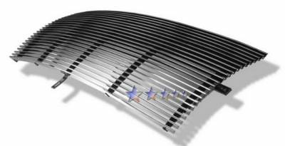 APS - Ford F350 APS Billet Grille - Center - Upper - Stainless Steel - F85087S