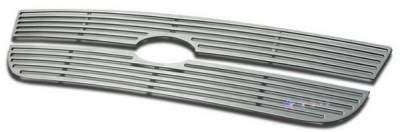 APS - Ford Expedition APS CNC Grille - Upper - Aluminum - F95729A
