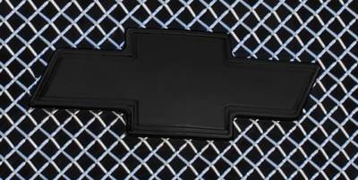 T-Rex - Chevrolet Silverado T-Rex Billet Bowtie with Border - Black - 19100B
