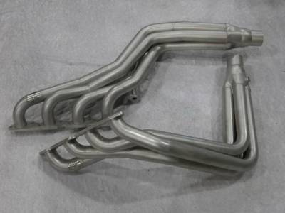 Stainless Works - GMC Sierra Stainless Works Exhaust Header - 81TRK
