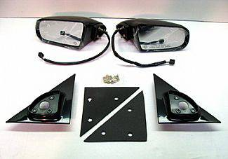 Street Scene - Chevrolet S10 Street Scene Cal Vu Electric Mirrors with Black Plug End - 950-11226