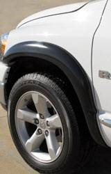 California Dream - Dodge Ram California Dream Street Style Fender Flares - Unpainted - SX202S