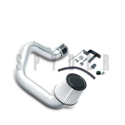 Spyder - Toyota Corolla Spyder Cold Air Intake with Filter - Polish - CP-469P