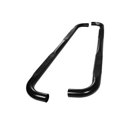 Spyder - Ford F250 Spyder 3 Inch Round Side Step Bar- Powder Coated Black - SSB-FF-A07S0508T-BK