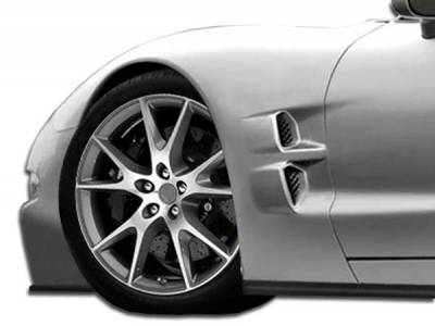Chevrolet Corvette Duraflex ZR Edition Fenders - 2 Piece - 105703