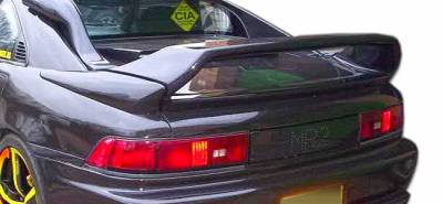 Extreme Dimensions - Toyota MR2 Duraflex N-Spec Wing Trunk Lid Spoiler - 3 Piece - 107088