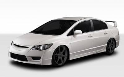 Honda Civic 4DR Duraflex JDM Type R Front End Conversion Kit   5 Piece    107959