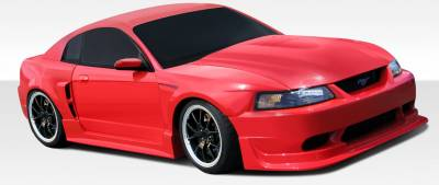 AIT Racing - Ford Mustang Duraflex CBR500 Wide Body Body Kit - 8 Piece - 107585