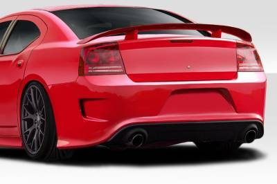 Duraflex - Dodge Charger Hellcat Look Duraflex Rear Body Kit Bumper 113292