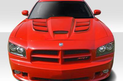 Duraflex - Dodge Charger Viper Look Duraflex Body Kit- Hood 113004