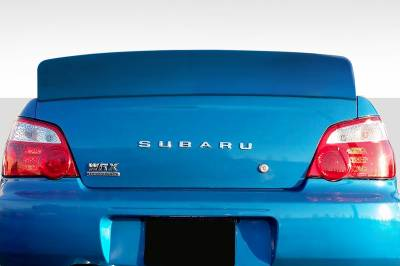 Duraflex - Subaru Impreza 4DR Downforce Duraflex Body Kit-Wing/Spoiler 112754