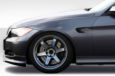 Duraflex - BMW 3 Series 4DR M3 Look Duraflex Body Kit- Fenders 112702