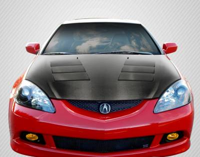 Carbon Creations - Acura RSX TS-1 DriTech Carbon Fiber Body Kit- Hood 112947
